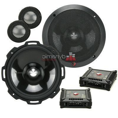 "Rockford Fosgate T2652-S 6.5"" Power Series Aluminum Componen"