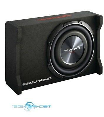 "PIONEER TS-SWX2502 10"" 1200W 4-OHM LOADED SUBWOOFER ENCLOSUR"