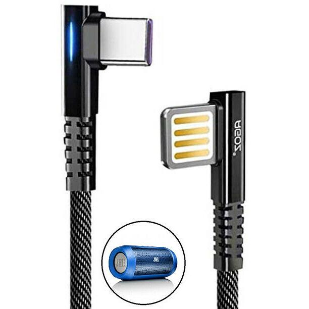 usb c cable w led fast charger