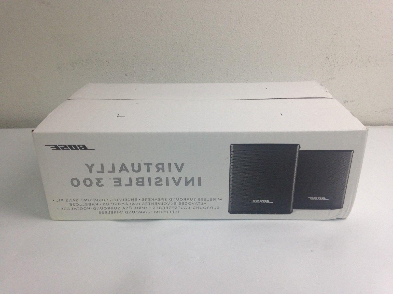 Bose Virtually Invisible 300 wireless surround speakers #294