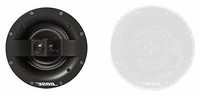 virtually invisible 591 in wall speakers white