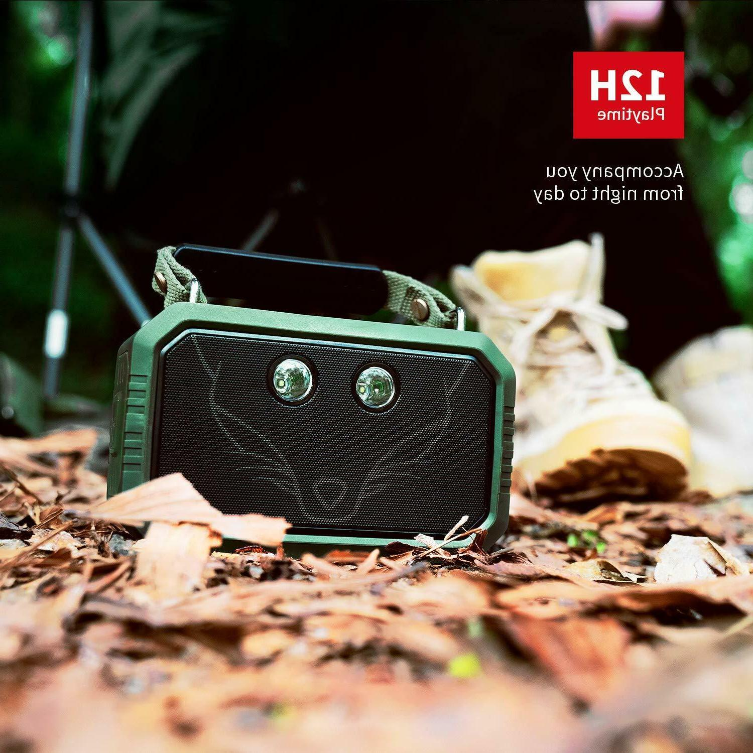 DOSS IPX6 Stereo Sound Portable Bluetooth