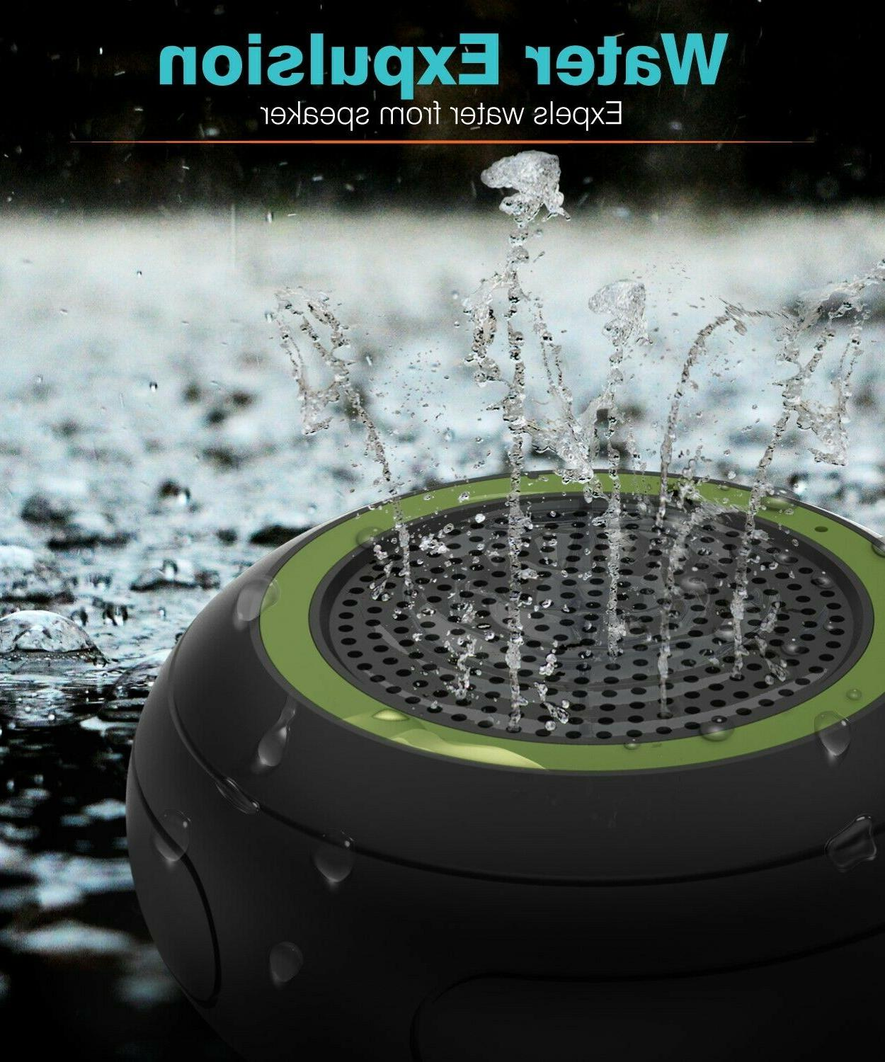 TWS Portable Bluetooth Stereo Speaker Wireless Shower