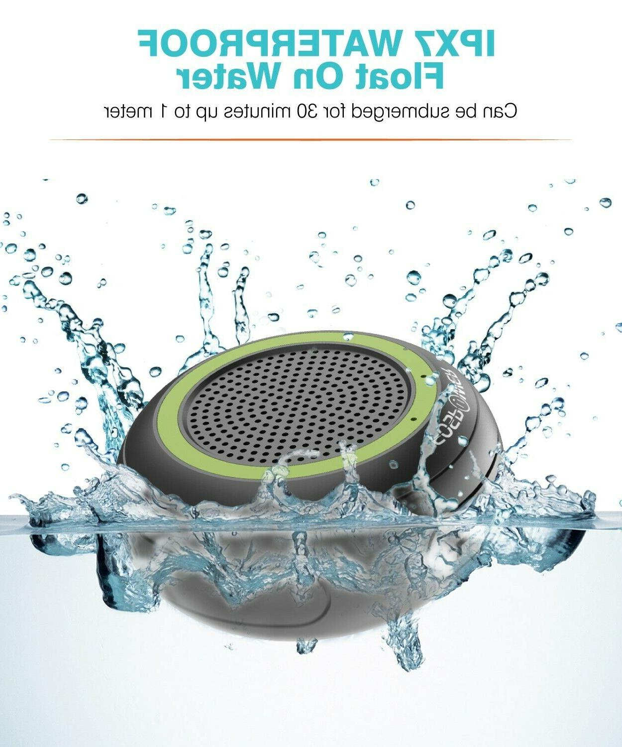 TWS Waterproof Stereo Speaker Shower Loud