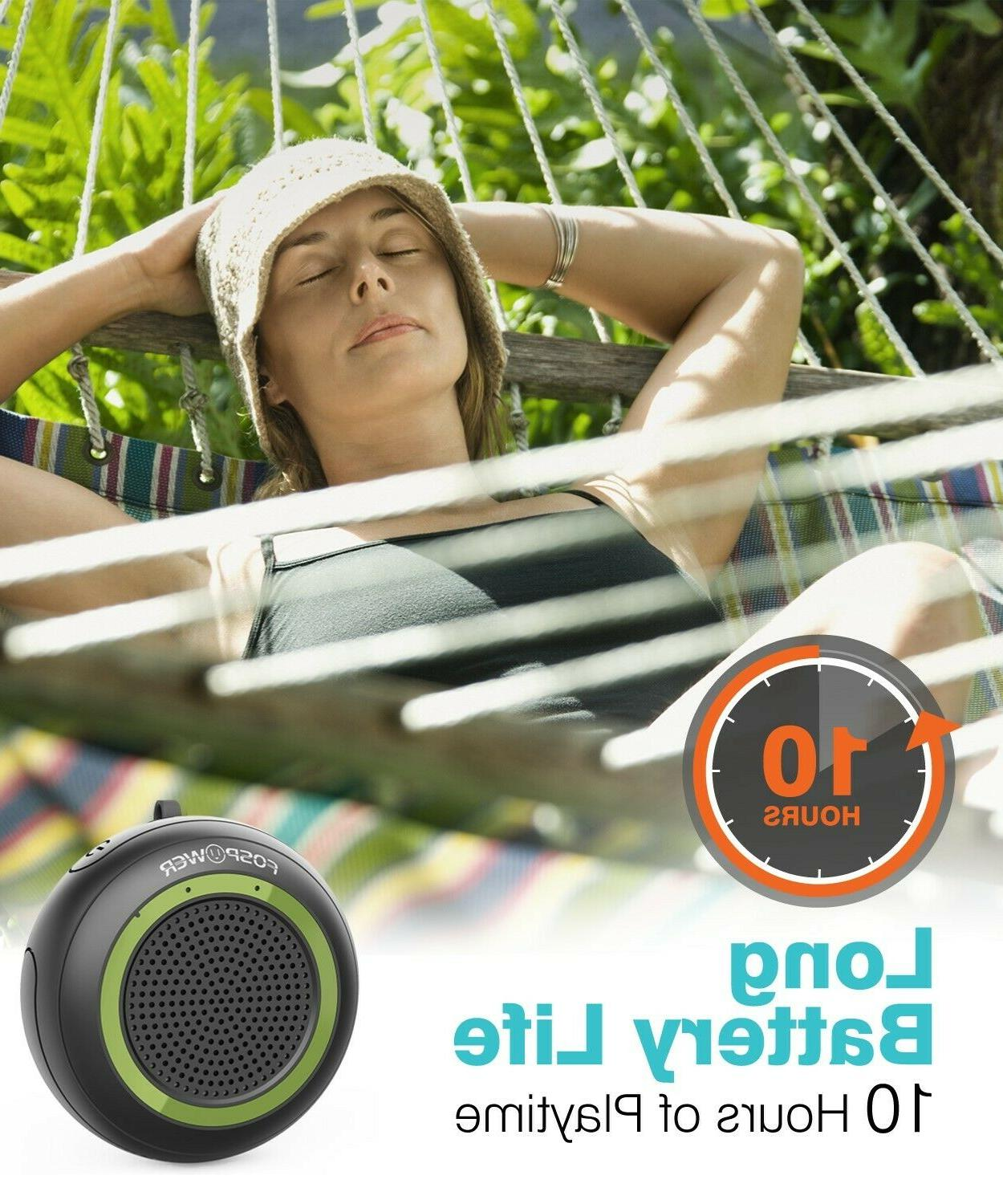 TWS Waterproof Stereo Speaker Outdoor Shower