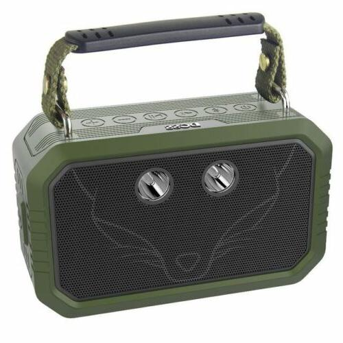 DOSS Wireless Portable Bluetooth Speakers - Green
