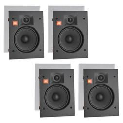 "JBL LAE6I 6.5"" in-Wall Speakers 2-Way Frameless w/ White Mag"
