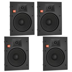 "JBL LAE8I 8"" in-Wall Speakers 2-Way Frameless Design with Ma"