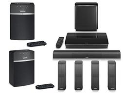Bose LifeStyle 650 Home Entertainment System, Black, with So