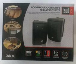 Dual Electronics LU43PB 3 Way Indoor Outdoor Studio Speakers