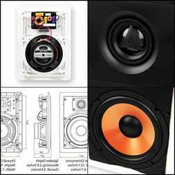"""Micca M-6S 6.5 Inch 2-Way In-Wall Speaker with Pivoting 1"""" S"""