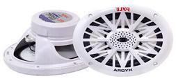 Pyle Marine Speakers - 6.5 Inch 2 Way Waterproof and Weather