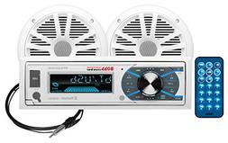 BOSS Audio MCK632WB.6 Marine Stereo Package - Bluetooth,  MP