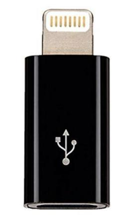 AmazonBasics Micro USB to Lightning Adapter - Apple MFi Cert