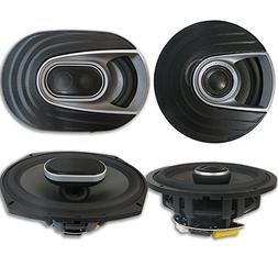 Polk Audio MM 6x9 Inch 3-Way Car Ultra Marine Speakers + 6.5