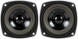 "NEW  3"" Woofer Speakers.Full Range Driver.4 ohm.Three inch.P"