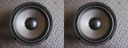 """NEW 6.5"""" Woofer Speakers.4ohm.6-1/2"""" MTM replacement.mids.Ca"""