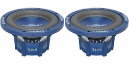 "NEW 8"" DVC SubWoofer Speakers.bass sub woofer PAIR.Dual 4ohm"