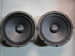 """NEW  8"""" Woofer Speakers.Guitar.Pro Audio Replacment Pair.8oh"""