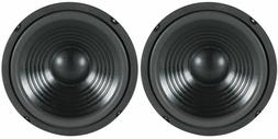 """NEW  8"""" Woofer Speakers.Replacement 8 ohm.Bass Woofer.Home A"""