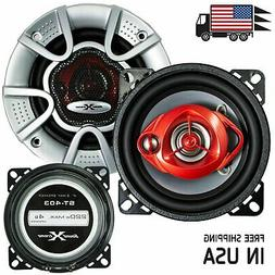 """New Soundxtreme 4"""" in 3-Way 220 Watts Coaxial Car Speakers C"""