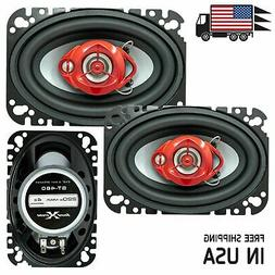 """New Soundxtreme 4x6"""" in 3-Way 220 Watts Coaxial Car Speakers"""