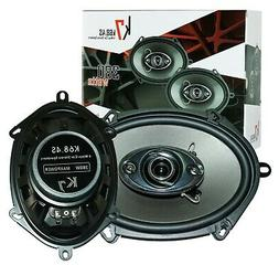 """New Soundxtreme 5x7"""" / 6x8"""" in 3-Way 350 Watts Coaxial Car S"""