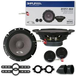 "NEW ALPINE 6.5"" 2-WAY CAR AUDIO SHALLOW MOUNT COMPONENT SPEA"