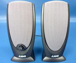 New! Genuine Dell A215 Powered Desktop Computer Speakers W27