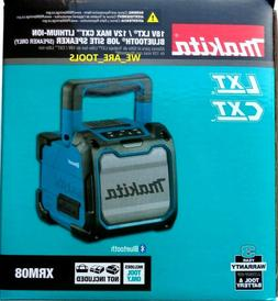 New In Box Makita XRM08 Bluetooth Joe Site Speaker 18V & 12V