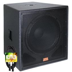 "New EMB Professional EBP18Sub Bass Gig 18"" 2000 Watt Active"