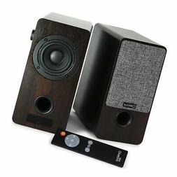 Micca ON3 3-Inch Powered Bookshelf Speakers with Remote Cont