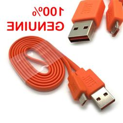 Original JBL Micro USB Fast Charger Flat Cable Cord for Char