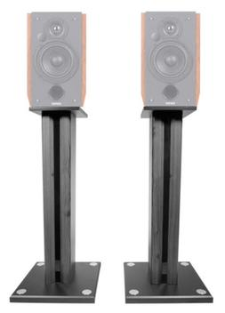 "Pair 26"" Bookshelf Speaker Stands For Edifier R1700BT Booksh"