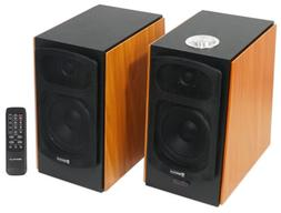 "Rockville HD5  5"" Powered Bookshelf Speakers Bluetooth Monit"