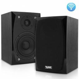 Pyle PBKSP22 HiFi Desktop Bookshelf Powered Bluetooth Speake