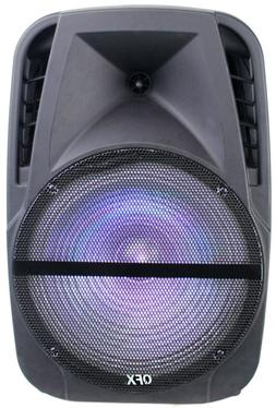 pbx bf120 12 rechargeable pa party speaker