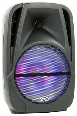 """QFX PBX-BF150 15"""" Rechargeable PA Party Speaker +TWS/Bluetoo"""