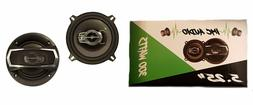 """IMC AUDIO 5.25"""" 300W Car Speakers 5.25 5 1/4 to Replace Fact"""