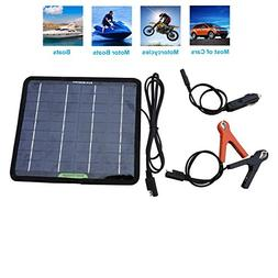 ECO-WORTHY 12 Volts 5 Watts Portable Power Solar Panel Batte
