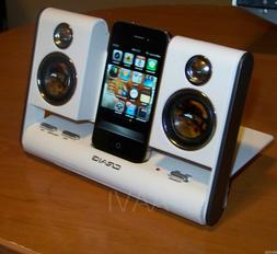 CRAIG Portable Powered Travel Speaker Dock for iPod Nano iPh