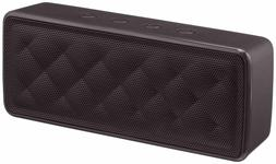 AmazonBasics Portable Wireless Bluetooth Speaker - Black/Red