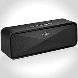Portable Wireless Bluetooth Speakers, Dual Driver with Loud