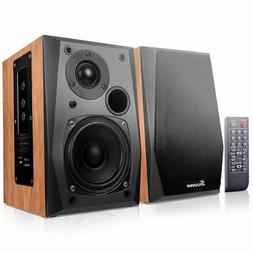 Powered Bluetooth Bookshelf Speakers Active Near Field Monit