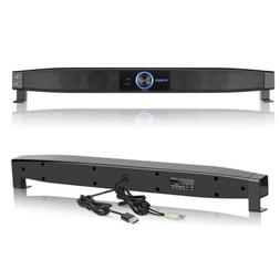 Powerful Sound Bar Speaker Wired Box Home Theater Subwoofer