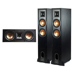 Klipsch R-26FA Dolby Atmos Floorstanding Speakers with R-25C
