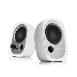 Edifier R12U Stereo Computer Bookshelf Active Speakers - Whi