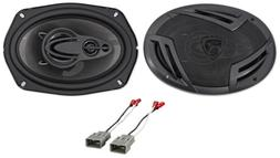 "Rear 6x9"" Rockville Factory Speaker Replacement Kit For 2003"