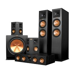 Klipsch RP-280FA Home Theater System Bundle  with Denon AVR-