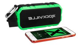 Rockville RPB24 Portable Bluetooth Speaker w/4000mAH Powerba